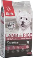 BLITZ ADULT SMALL BREED LAMB AND RICE 2 кг