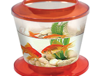 "Аквариум ""Gold Fish Bowl"", 4л, оранжевый, d220*190мм"